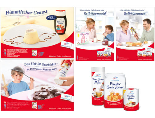 Südzucker Kampagnen + Verpackungen