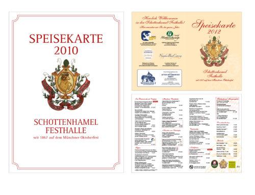 Schottenhamel Speisekarten
